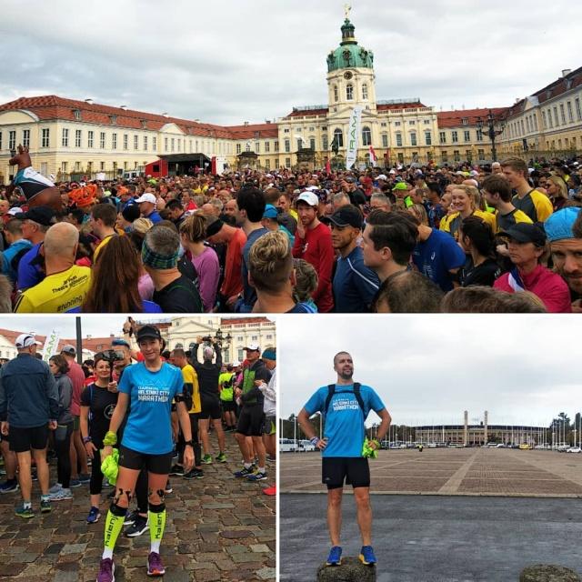 Спорт-туризм. Берлин. Серия World Marathon Majors. Мало фото, много текста.